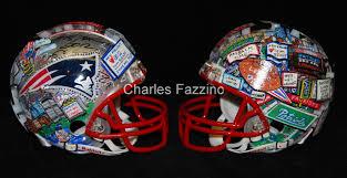 fazzino nfl mini helmet new england patriots multiview