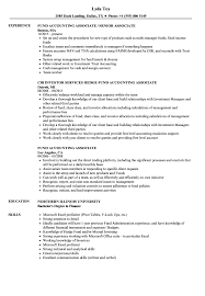 Accounting Associate Resume Fund Accounting Associate Resume Samples Velvet Jobs 1