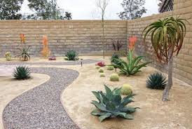 Desert Backyard Designs Mesmerizing Desert Landscape Ideas Desert Landscaping Ideas Rock Pathway In