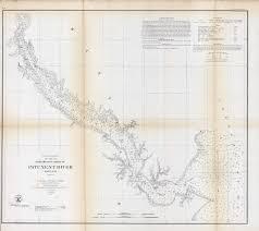 U S Coast Survey Preliminary Chart Of Patuxent River Maryland
