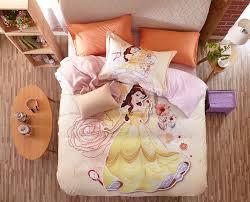 disney princess belle bedding set for kids girls teens 1 600x485 disney princess belle bedding