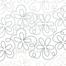 Daisy Bounce free motion quilting | Quilting and Sewing ... & Daisy Bounce free motion quilting | Quilting and Sewing | Pinterest | Free  motion quilting, Free and Patterns Adamdwight.com