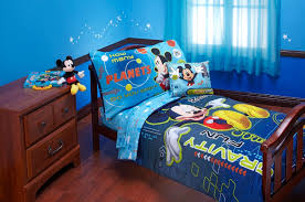 Mickey Mouse Bedroom Furniture Amazoncom Disney Mickey Mouse Space Adventures 4 Piece Toddler