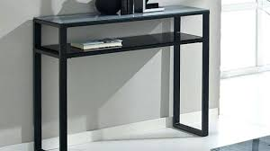 black glass console table black metal and glass console table regarding metal and glass console table ideas black glass console table uk