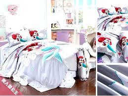 disney princess comforter set princess bedding twin comforter sets full size girls mermaid and the frog