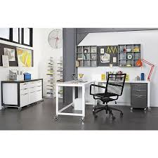 office furniture filing cabinets and filing on pinterest cb2 office