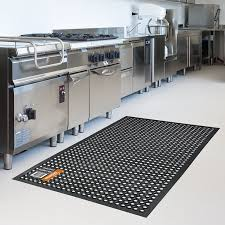 Rubber Floor Kitchen Rubber Floor Safety Mat 5x3 Ft Anti Fatigue Kitchen Bar Drainage