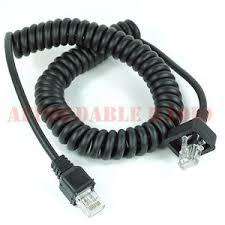 kenwood mc radio communication mic microphone cable cord for kenwood radio mc 59 kmc 27a kmc 27b