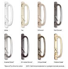 sliding glass door repair parts