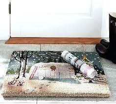 rv door mat camper door mat pottery barn or paint your own outdoor mats merry camper