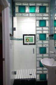 lighted glass block wall best shower ideas on blocks tile using 8 x colored  lights . lighted glass block ...