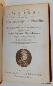 works of the late doctor benjamin franklin consisting of his  works of the late doctor benjamin franklin consisting of his life written by himself