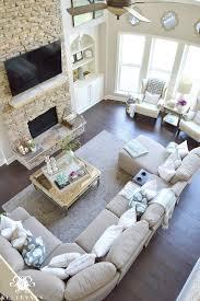 elegant living room contemporary living room. cool tone spring ready living room tour elegant contemporary