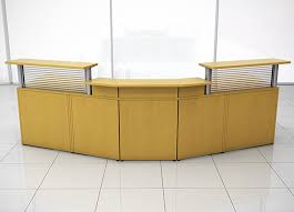 Office receptionist desk Waiting Room Reception Furniture Iof3 Cubicles Reception Furniture By Cubiclescom