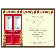 Thanksgiving Invites Thanksgiving Holiday Door Invitations