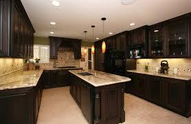Dark Espresso Kitchen Cabinets Espresso Kitchen Cabinets With Dark Wood Floors Cliff Kitchen