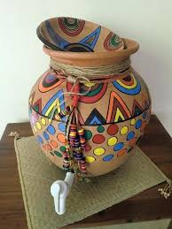 hand painted clay pot water dispenser painting pots decorating ideas tips to give a quirky make painted clay pots painting hand designs
