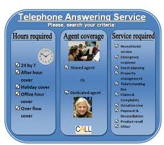 Telephone Answering Service Decision Chart