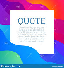 Vector Text Quote Frame Stock Vector Illustration Of Blank 137688263