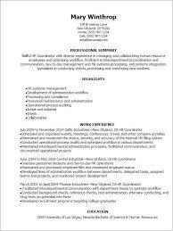 Resume Critique Free Magnificent Resume Critique Free Awesome Hr Coordinator Cv Yeniscale Poureux