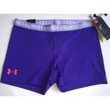 under armour shorts for girls. under armour girls xl heatgear compression shorts for