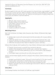 Legal Assistant Job Description Resume Sample Resume Paralegal ...