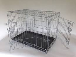 deluxe xl dog crate silver or black  brand new  in great