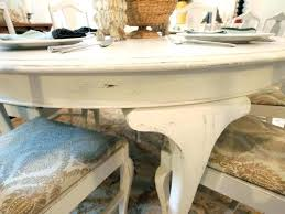distressed round dining table distressed white round dining table white round distressed dining table with 6