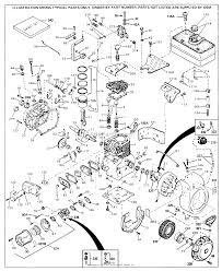 Tecumseh h70 130160b parts diagram for engine parts list 1