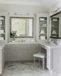 Vanity Stools For Bathrooms Gorgeous Lucite Vanity Stool Transitional Bathroom In Remodel 48