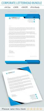 Business Letterhead Designs | Custom Company Letterheads Usa ...