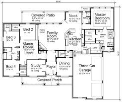 I love this floor plan modify bedroom to homeschool room change rear bathroom to bath powder room by the nook study is an office