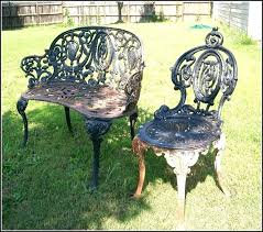 wrought iron outdoor furniture. Wrought Iron Lawn Furniture Charming Antique Patio With Cast Outdoor