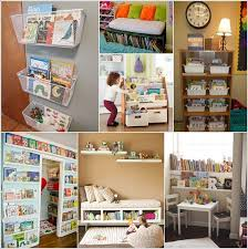 Do you have some little readers at home who have their room cluttered with  books? If yes then corral the clutter and give their books a home.