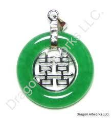 fortunate chinese jade pendant of