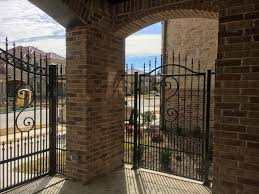 metal fence gate. Metal Fence Gate. All Wrought Iron Fences Include: Companies Allen Tx Company Gate