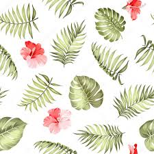 Topical Pattern Enchanting Topical Palm Leaves Pattern Stock Vector © Kotkoa 48
