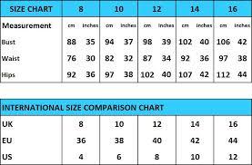 International Women S Size Chart Size Chart Allta Tall Womens Workwear