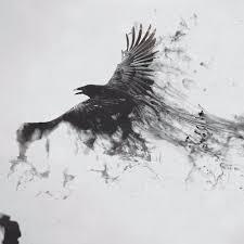 10 Captivating Blackwork Crow Tattoos Tattoodo