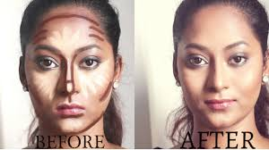 how to contour and highlight routine for indian skintone beautymaven beauty maven