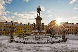 Helsinki Senatsplatz Helsinki - Discovering Finland