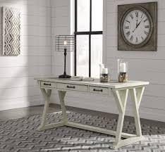 white home office design big white. Jonileene White/Gray Home Office Large Leg Desk White Design Big