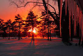 Sunset Winter Wallpapers - Top Free ...