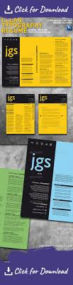 Clean Typography Resume Cover Letter Set Resume Cover Letters