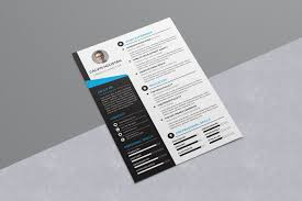 Resume Adobe Indesign Template Free Graphicriver Simple Format Doc
