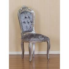 Silver Bedroom Chair Silver Chair Upholstered Indonesia Furniture