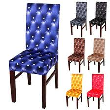 image is loading removable chair covers protector stretch spandex slipcovers short