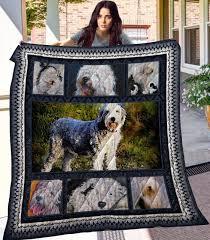 Old English Sheepdog Quilt Blanket ...