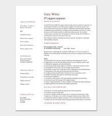 Engineering Resume Mesmerizing Engineering Resume Template 60 Examples For Word PDF Format