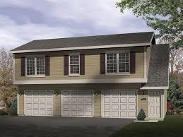 efficiently designed three car garage apartment